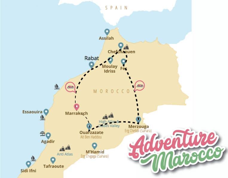 adventure marocco