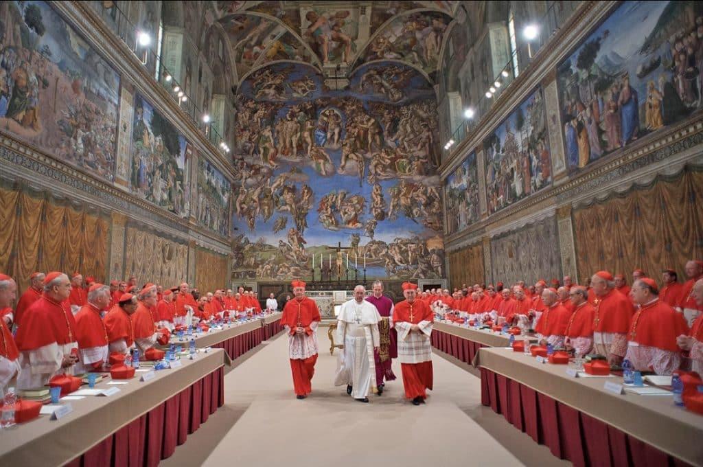 Conclave Cappella Sistina - Rome