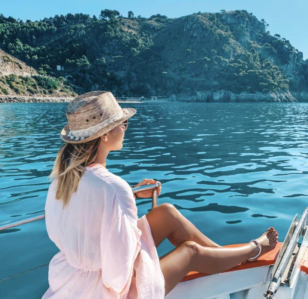 Tour in Barca Sperlonga